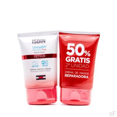 Duplo Ureadin Plus Crema de manos Reparadora 2 x 50 ml