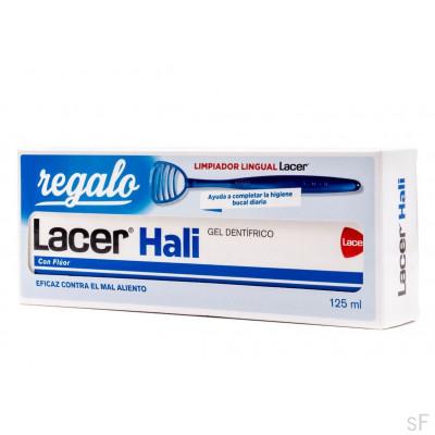 Lacer Hali Gel dentífrico 125 ml + REGALO Limpiador lingual