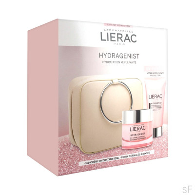 Pack Lierac Hydragenist Crema hidratante Rellenadora 50 ml + REGALO