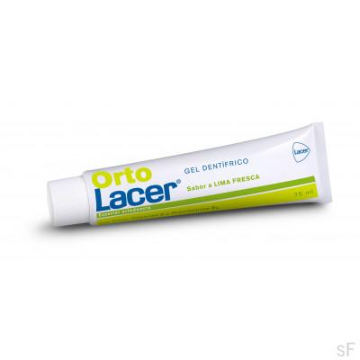 OrtoLacer Gel Dentífrico Lima fresca 75 ml