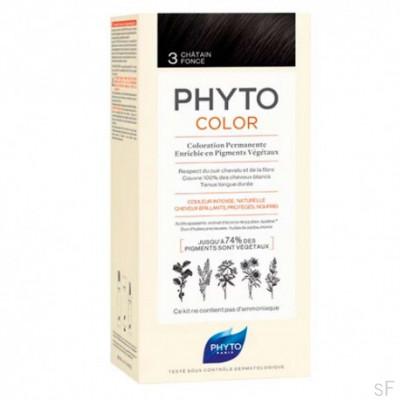 Phytocolor Tinte sin amoniaco / 03 CASTAÑO OSCURO