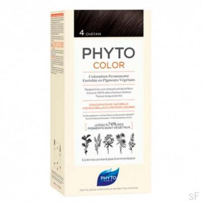 Phytocolor Tinte sin amoniaco / 04 CASTAÑO