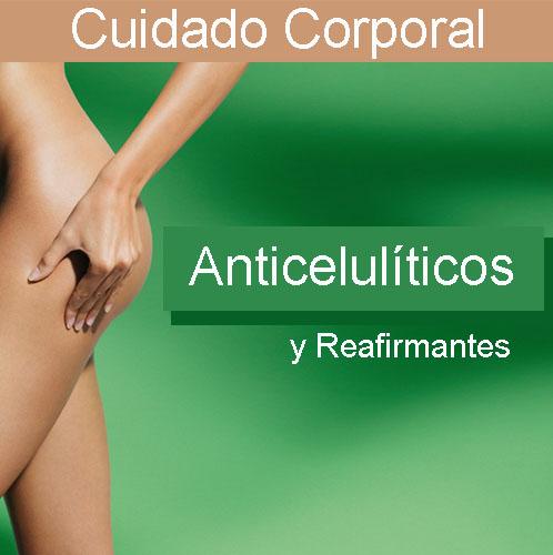 Anticelulíticos y reafirmantes corporales